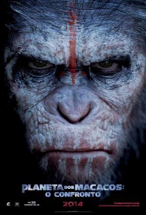 Filme Poster Planeta dos Macacos – O Confronto HDRip XviD Dual Audio & RMVB Dublado