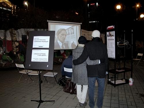 """OB-CIACHowe kino uliczne non-stop w DZIEŃ ŻOŁNIERZY WYKLĘTYCH - intuicja: """"Kocham OB-CIACH!:) - spotykamy się w trzecią sobotę każdego m-ca"""""""