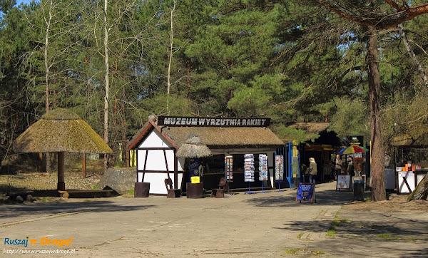 muzeum wyrzutnia rakiet w Rąbce