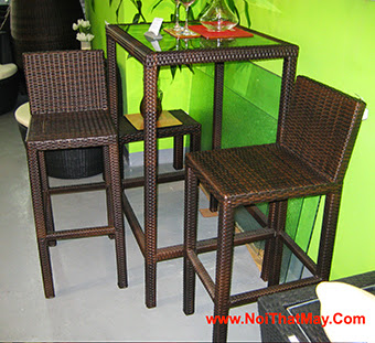 Outdoor Wicker Bar Set Minh Thy 825