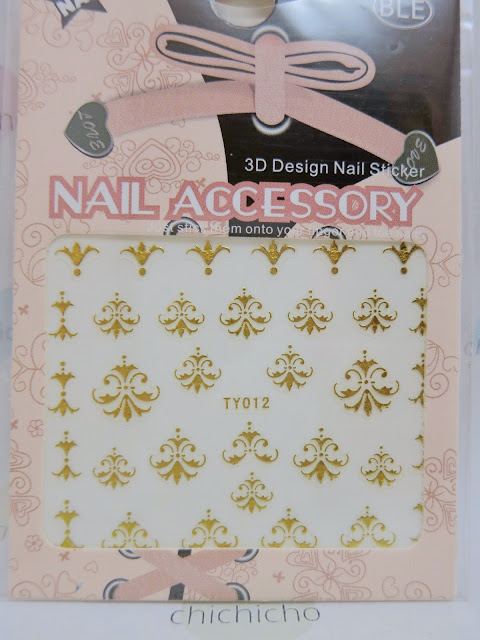 Chandelier Nail Art Sticker