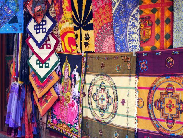 達人帶路-環遊世界-尼泊爾-臘染布