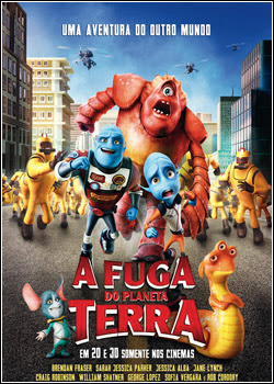 A Fuga do Planeta Terra – DVD R download baixar torrent