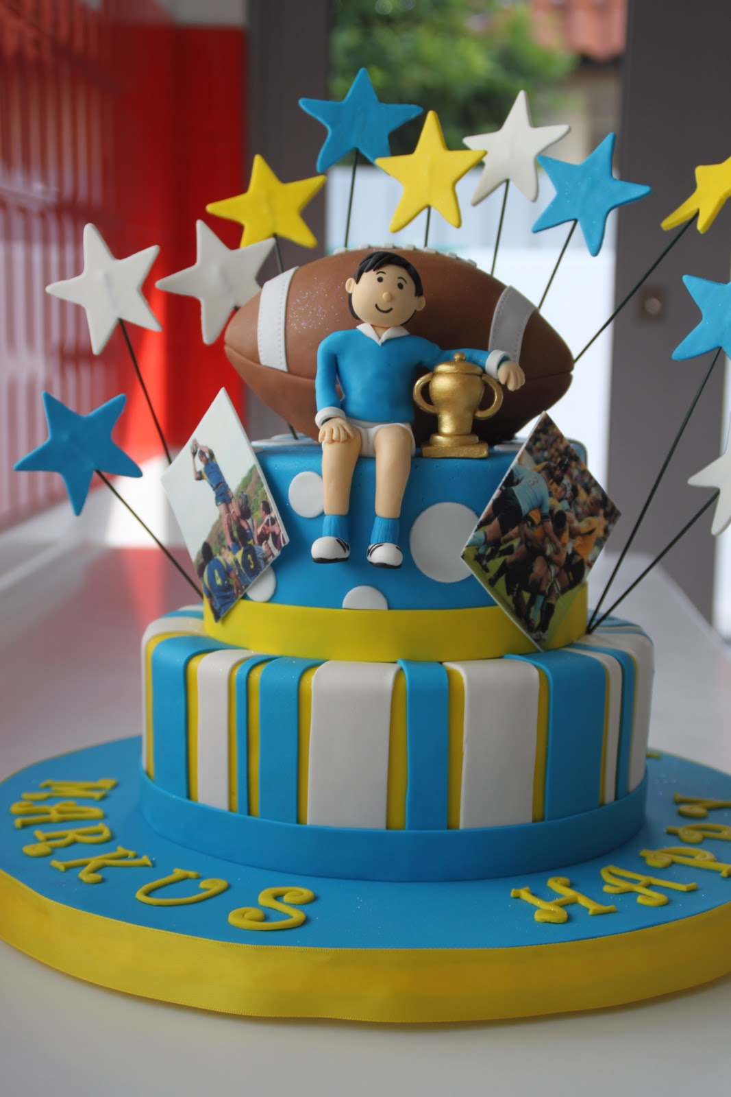 Football Cake Toppers Singapore