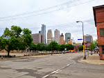 Skyline von Minneapolis, MN
