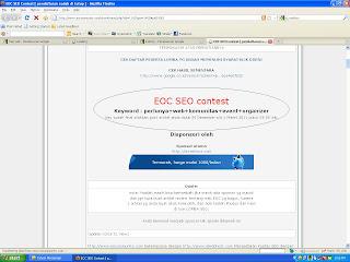 Keyword perlunya web komunitas event organizer ditutup 1 maret jam 23 00 wib