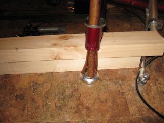 Installation d'une suspension avant sur un ICE Q Img_2682