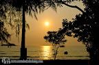 Sunset at Klong Prao beach