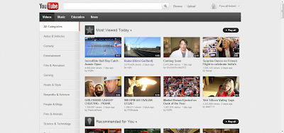 YouTube Browser Januar 2012