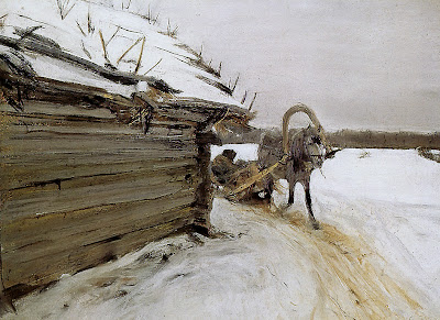 Valentin Serov - In Winter