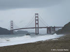 Golden Gate Bridge seen from Baker Beach