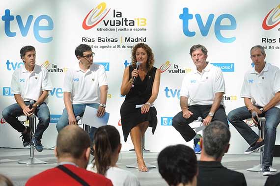 La Vuelta Ciclista a España 2013 llegará a Madrid el 15 de septiembre