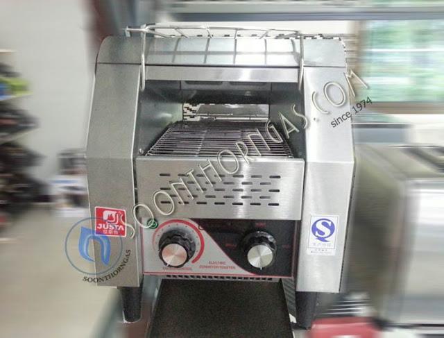 เครื่องปิ้งขนมปังแบบสายพาน TT-150