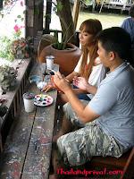 Malen zu zweit