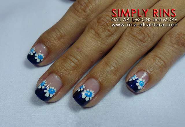 Feeling Blue Nail Art Design 02