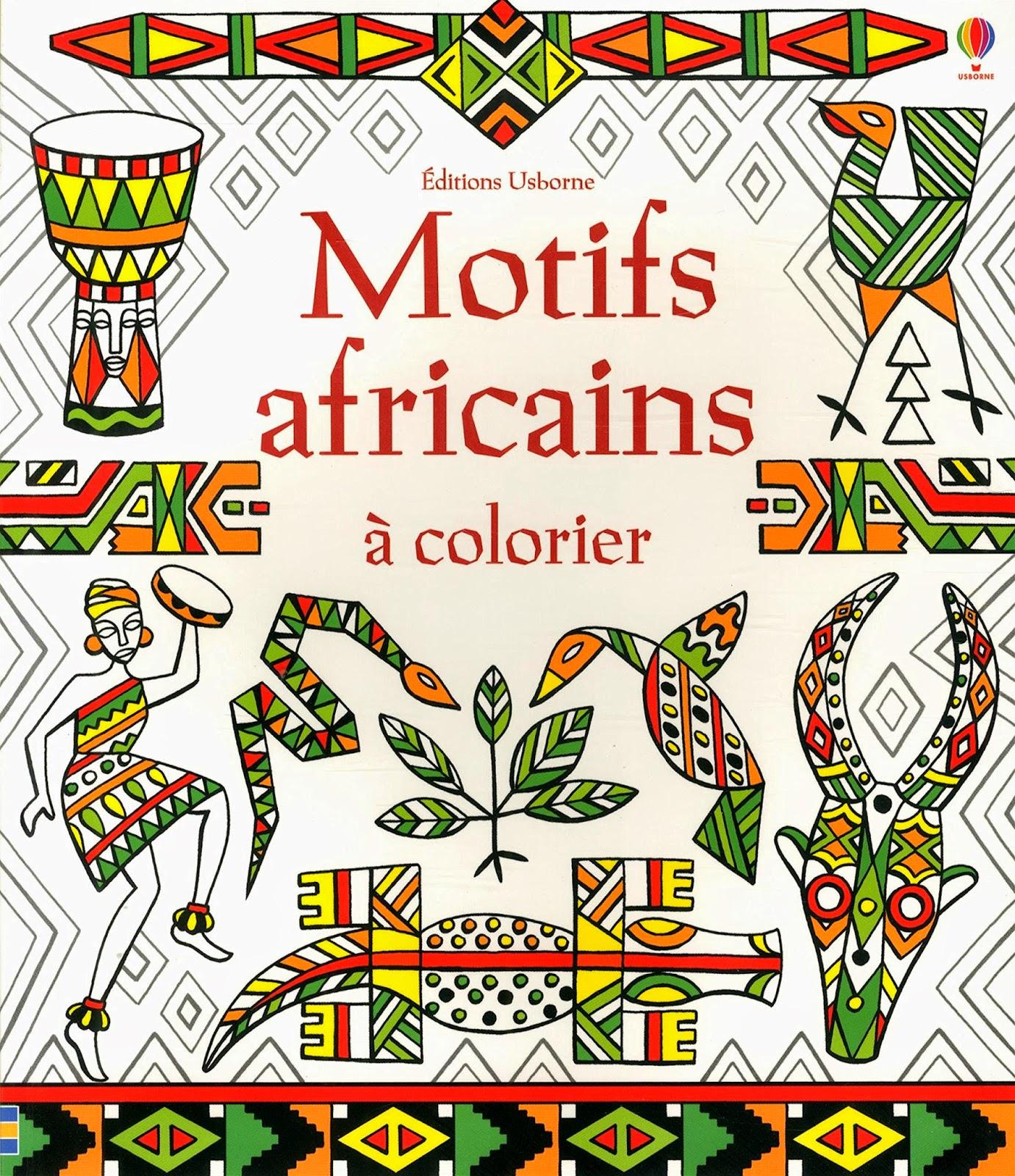 Dessin Africain A Colorier