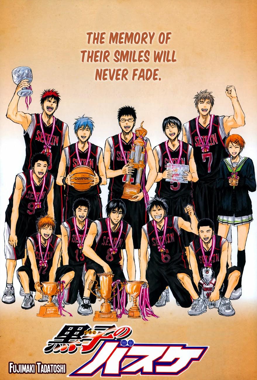Kuroko no Basket Manga Chapter 275 - Image 01