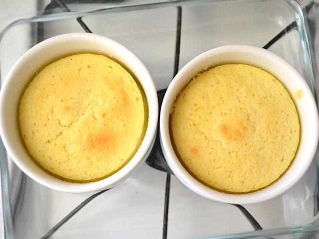 Microwave Cinnamon Tea Cake Sugar Free