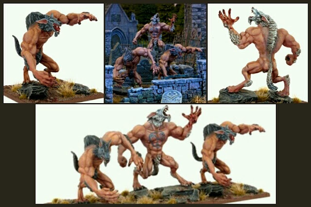 Hombres lobo Mantic