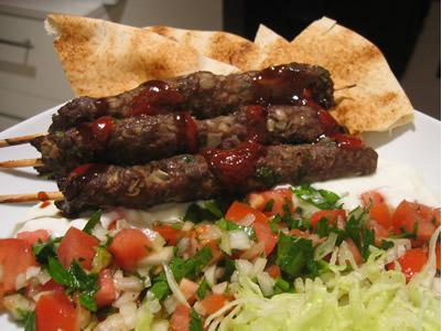 cocina libanesa casera kafta