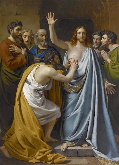 François-Joseph Navez - The Incredulity of Saint Thomas