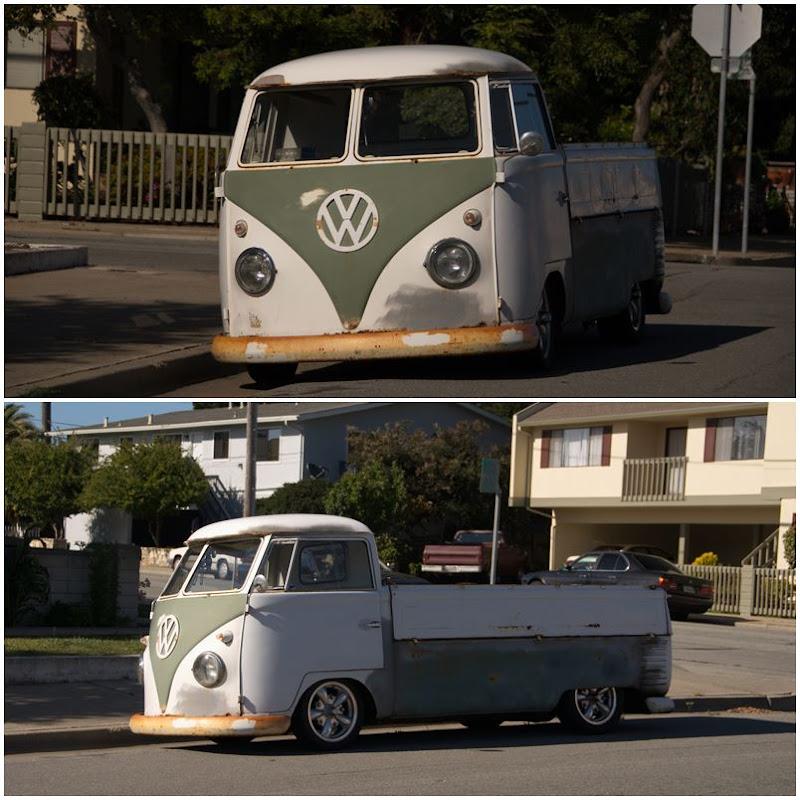 Monterey: alter VW Bulli