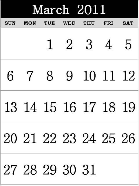 march 2011 calendar printable. Blank+march+2011+calendar+