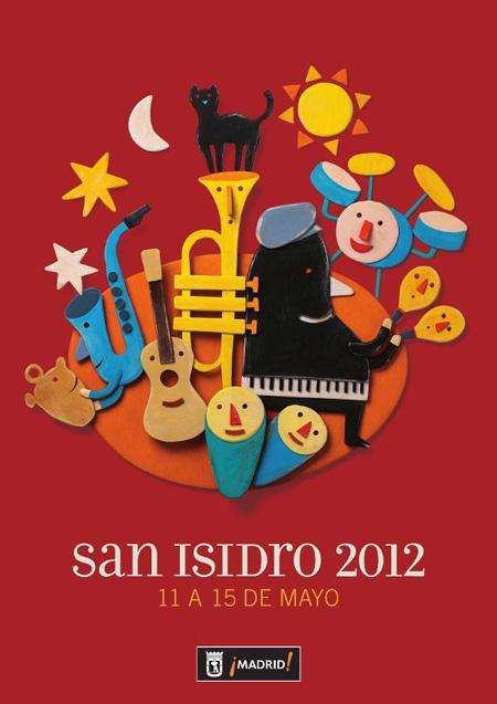 Fiestas de San Isidro 2012 del 11 al 15 de mayo