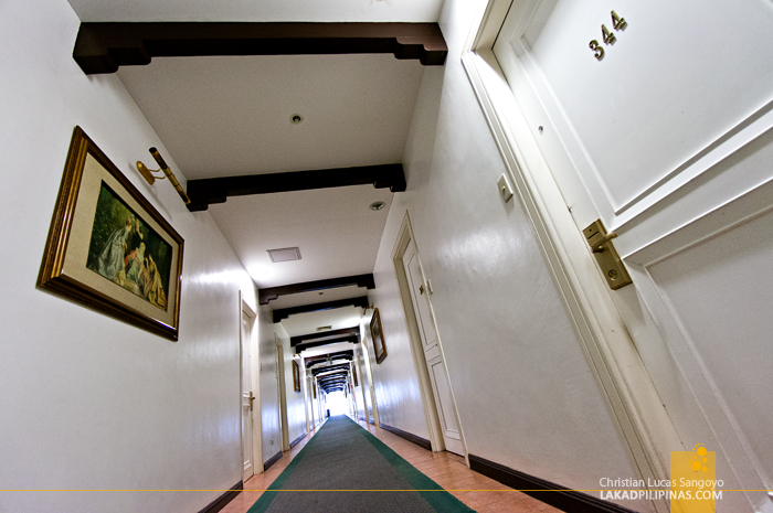Well-lit Hallways at Laoag's Fort Ilocandia