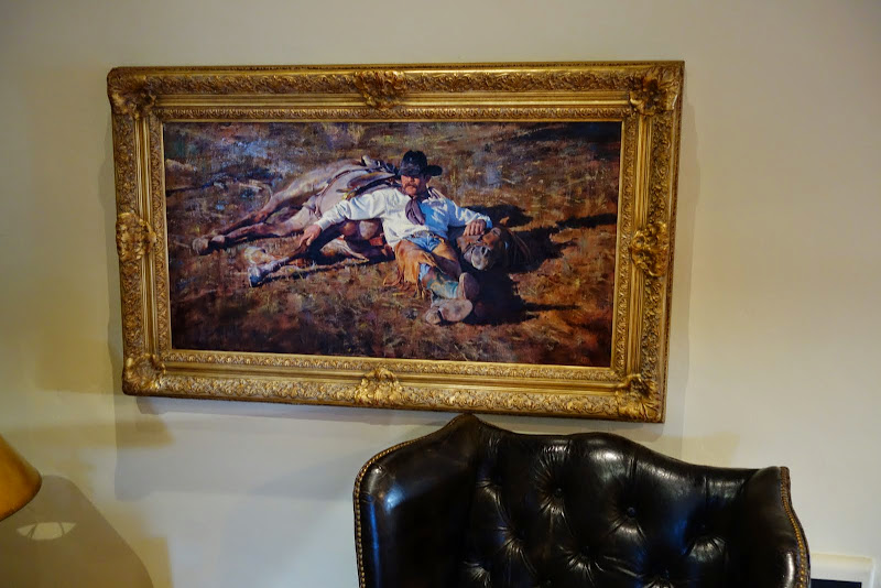 Western art at Holman Ranch