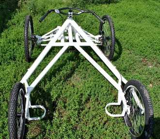 cart 4 roues TRACZER vue arrière