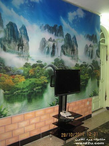 من تصميمي لجدارية شاشة lcd