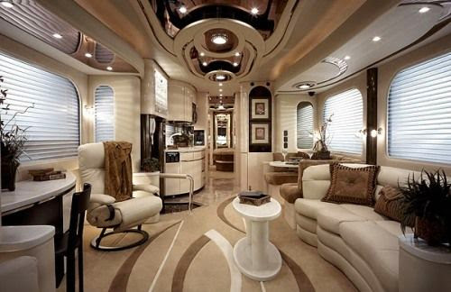 The cosy and luxury of the world most expensive vehicle