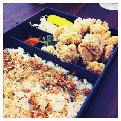 Ohnamiya Chicken Karaage in Rice Box