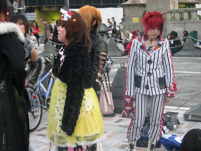 El cosplay en el Yoyogi Park reúne cada día a muchos adeptos y curiosos