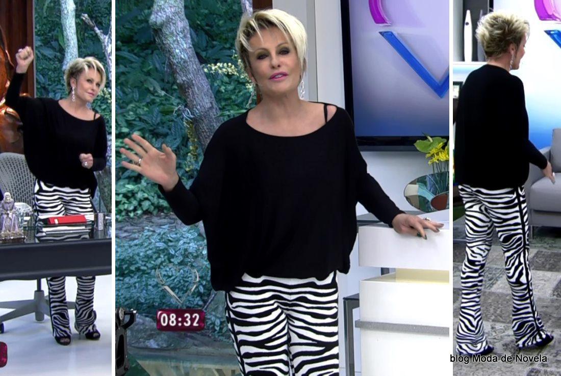 moda do programa Mais Você - look da Ana Maria Braga dia 27 de maio
