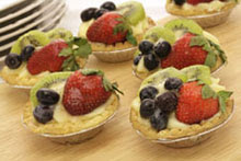 Ricotta Fruit Tartlets