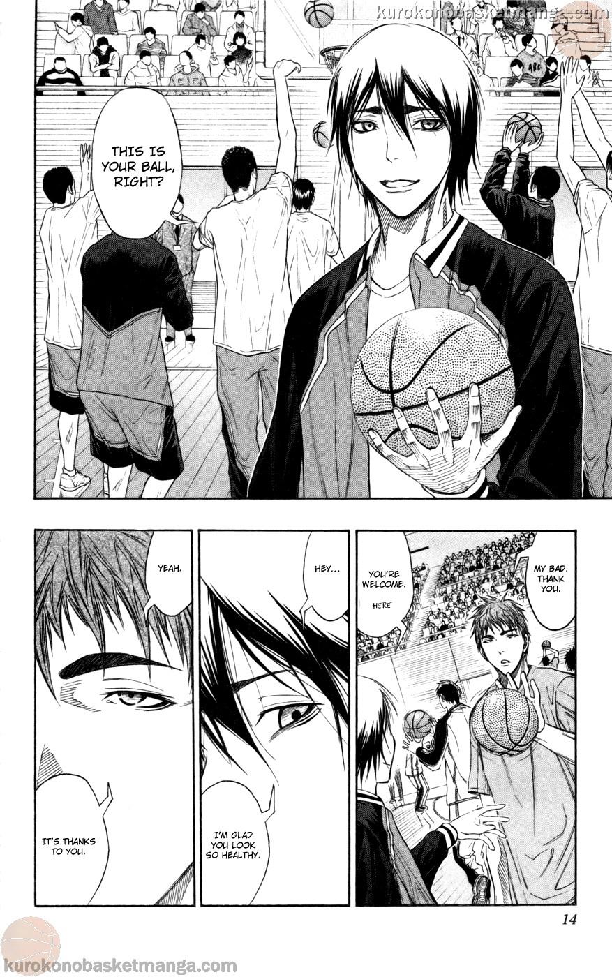 Kuroko no Basket Manga Chapter 100 - Image 12