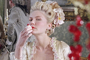 """Kirsten Dunst como """"Marie Antoniette"""""""