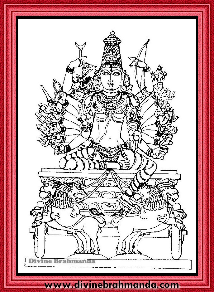 Soundarya Lahari Sloka, Yantra & Goddess For Realisation Of Self And Ultimate Truth - 27