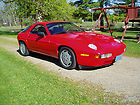 PORSCHE 1987 928s4 RED with rare 5 SPEED