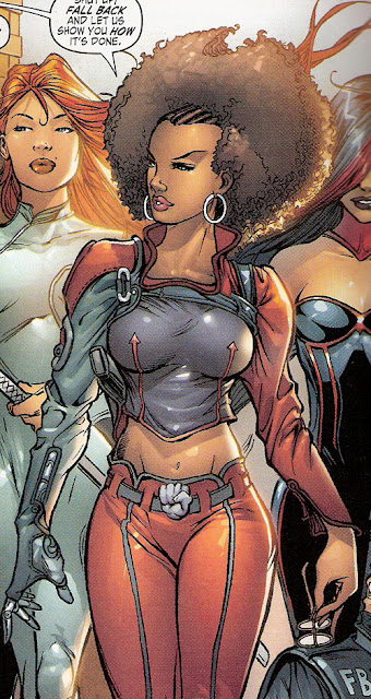 Misty Knight's ridiculous costume