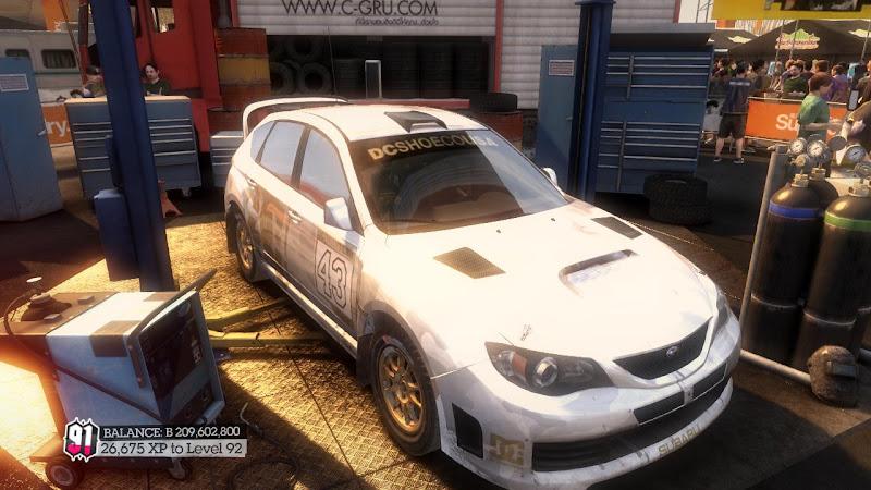 รายการรถกลุ่ม Rally ใน DiRT2 Sti-07