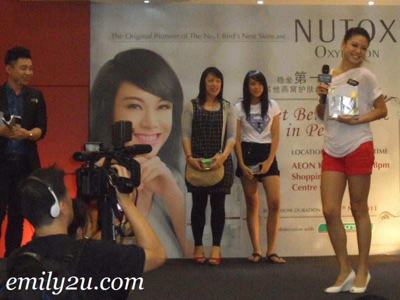 Bernice Liu Nutox Ipoh
