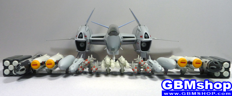 how to VF-4G Lightning III Commander Type Full fully Armed Fighter Mode