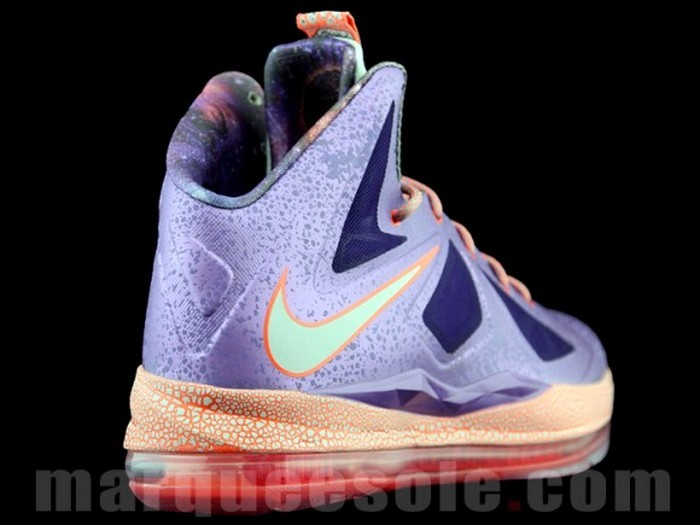 low priced 452f7 d02d2 ... First Look at Nike LeBron X Galaxy in Kids8217 Sizes ...
