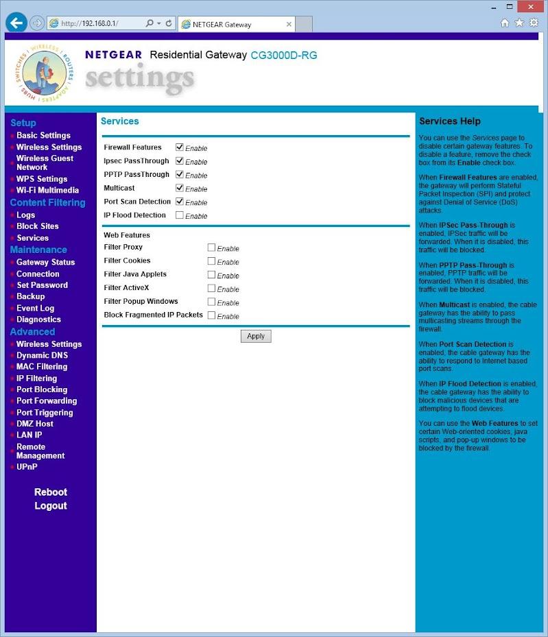 Superuser login reveals a new entry on the admin menu.