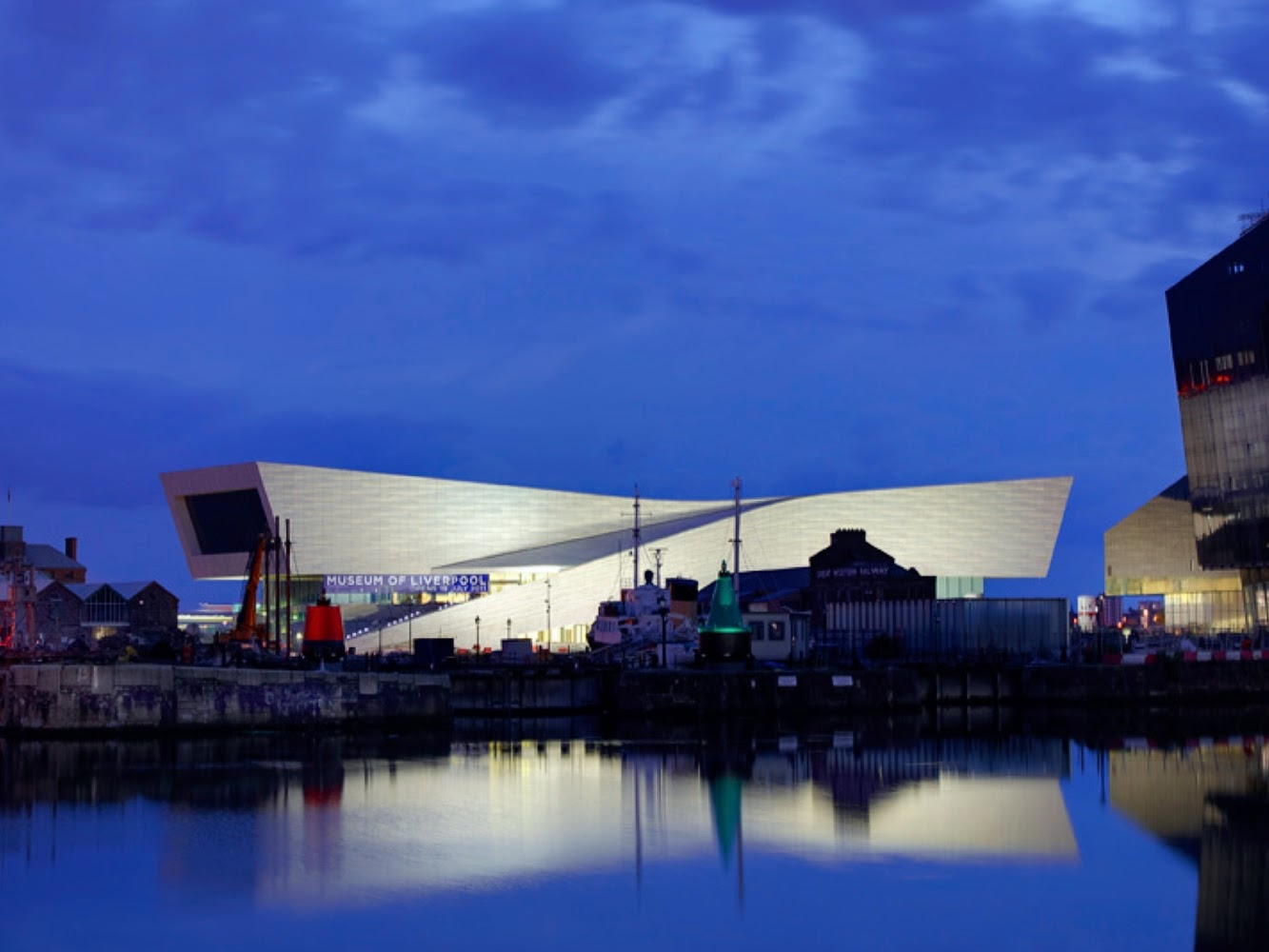 Liverpool, Merseyside, Regno Unito: Museum of Liverpool by 3XN