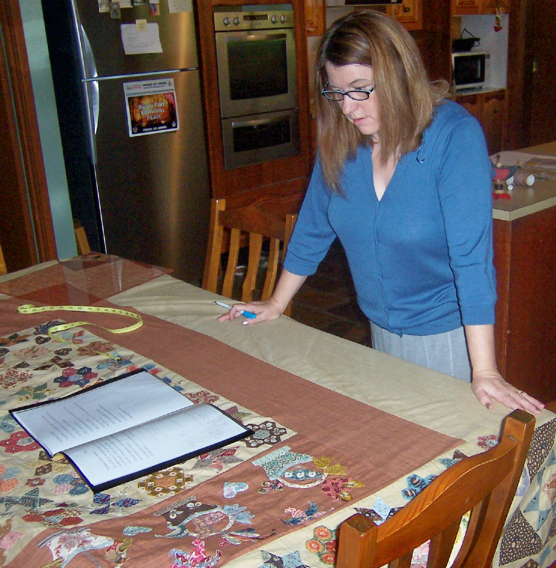 Karen Cunningham: Working at home. : karen cunningham quilts - Adamdwight.com