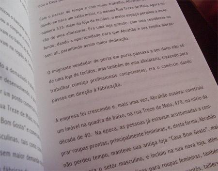 Livro A Indústria Brasileira do Vestuário